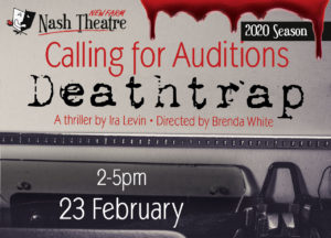 Deathtrap Audition Notice